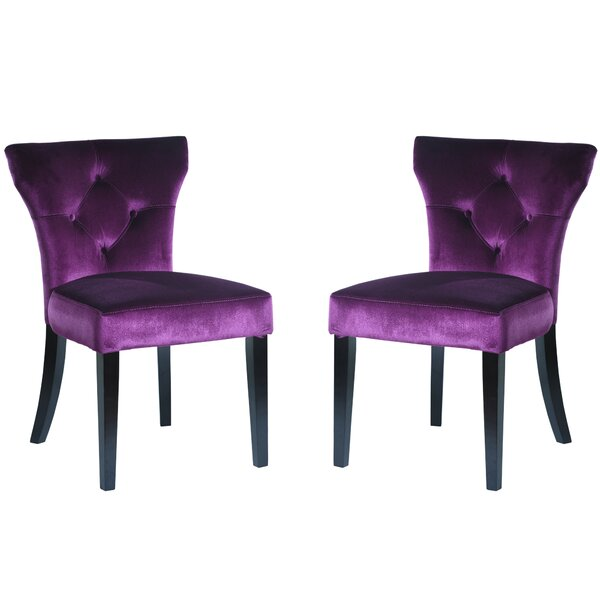 Elise Upholstered Dining Chair by Armen Living
