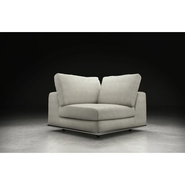 Syd Left Hand Facing Modular Sectional with Ottoman by Orren Ellis