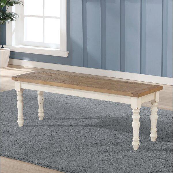 Cierra Wood Bench By Ophelia & Co.