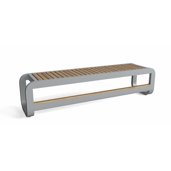 Iroh Aluminum Picnic Bench by Brayden Studio