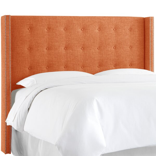 Upholstered Wingback Headboard by Skyline Furniture