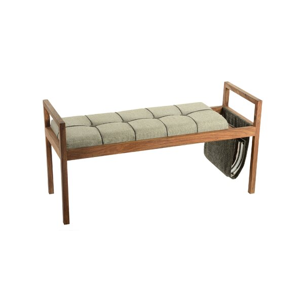 Criddle Wood Bench by Corrigan Studio