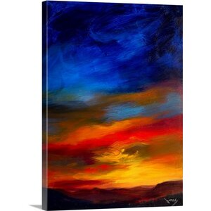 Majestic Skies by Jonas Gerard Painting Print on Canvas by Great Big Canvas