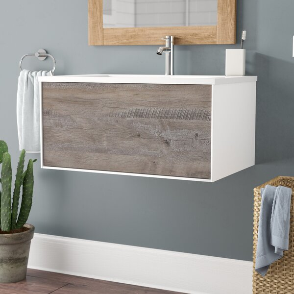 Colton Wall Mount 30 Single Bathroom Vanity by Union Rustic