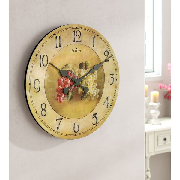 Eldora 18 Wall Clock by One Allium Way