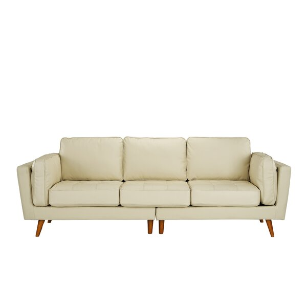 Kevin Leather Sofa by George Oliver
