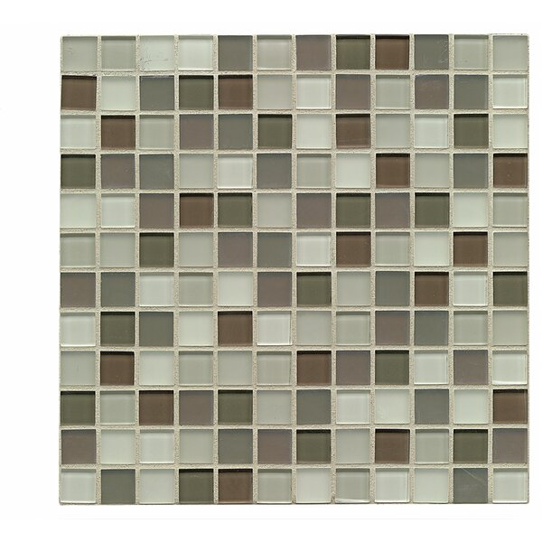 Harmony 1 x 1 Glass Mosaic Tile in Balance by Grayson Martin