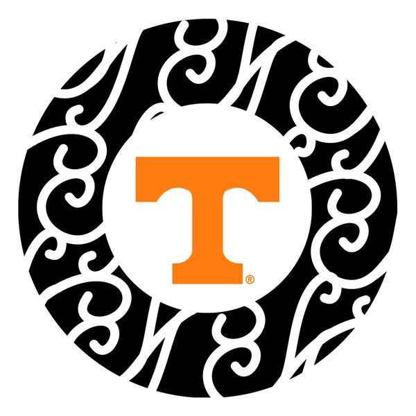 University of Tennessee Swirls Collegiate Coaster (Set of 4) by Thirstystone