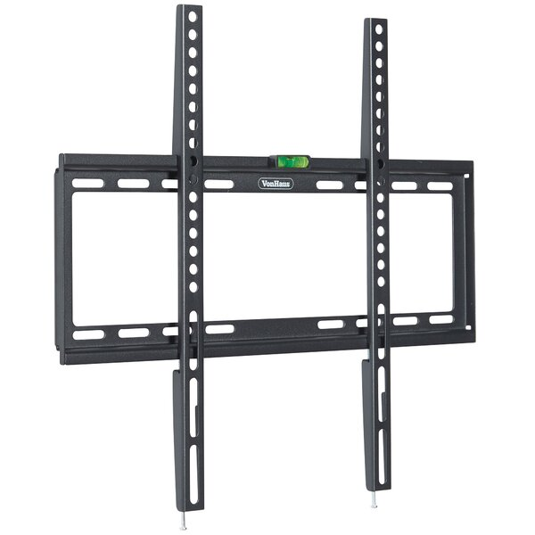 """Ultra Slim Fixed Wall Mount for 32-55"""" Flat Panel Screens by VonHaus"""