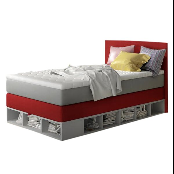 Coelho Full Upholstered Storage Platform Bed With Mattress By Trule Teen