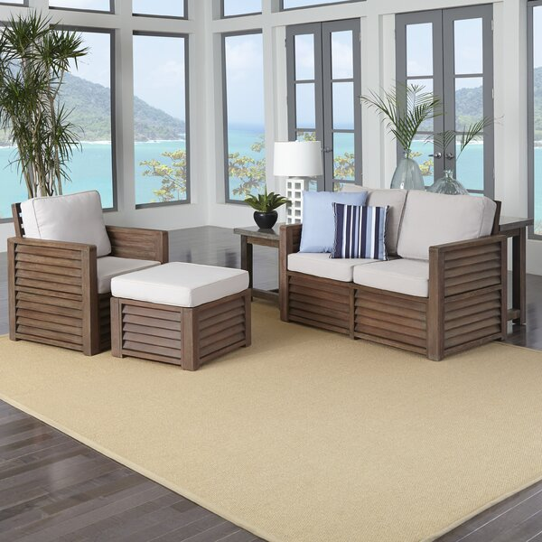 Hollo 4 Piece Living Room Set By Bay Isle Home.
