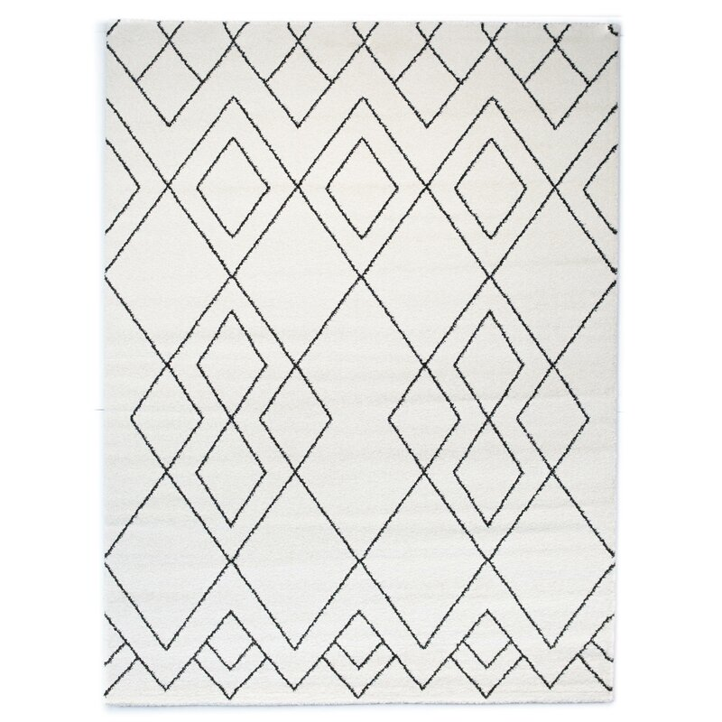 Balta Elle Geometric Cream Area Rug Reviews Wayfair