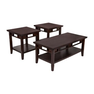 Daxton 3 Piece Coffee Table Set (Set of 3) by Red Barrel Studio