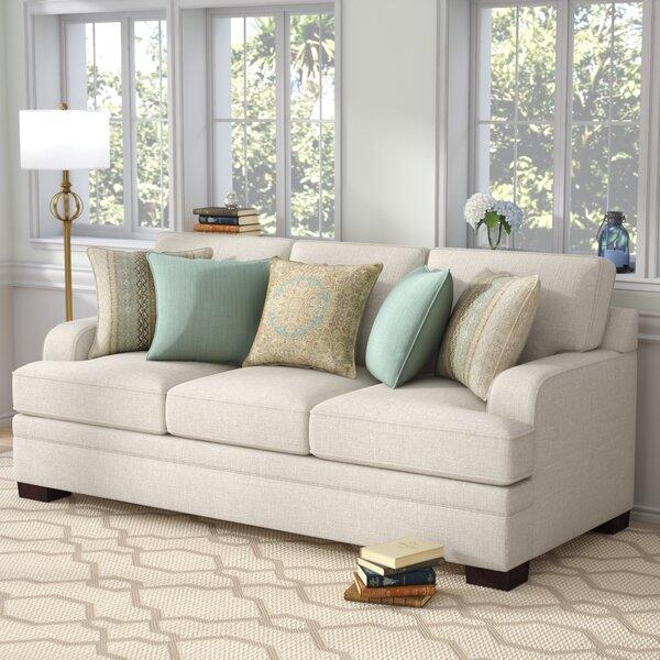 Hattiesburg Parchment Sofa by Three Posts