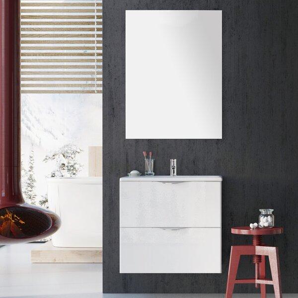 Rutland 24 Bathroom Single Vanity Set with Mirror