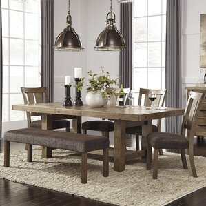 Kitchen Tables With Bench | Bench Kitchen Dining Room Sets You Ll Love Wayfair