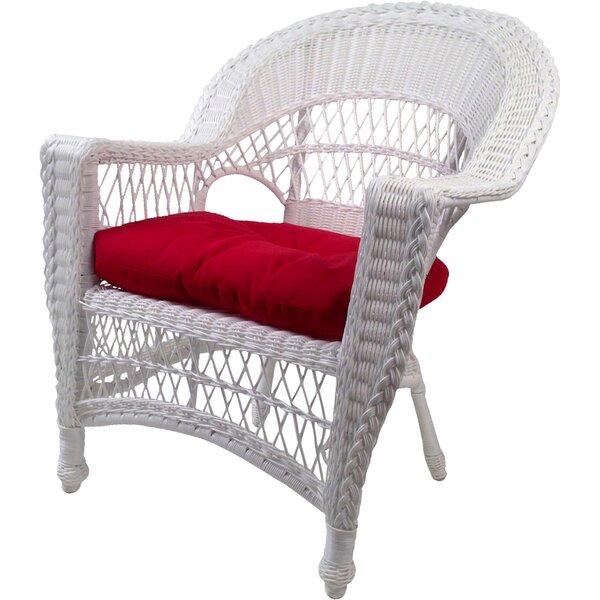 Camacho Patio Chair with Cushion by August Grove