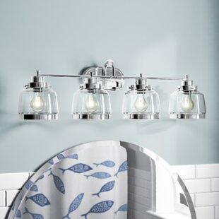 Where buy  Murguia 4-Light Vanity Light By Beachcrest Home