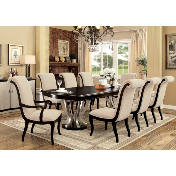 Choncey 9 Piece Extendable Dining Set by Willa Arlo Interiors