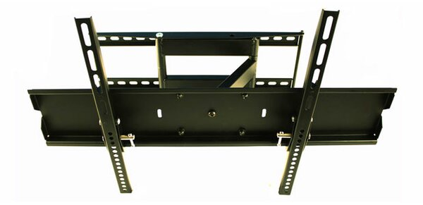 Corner TV Articulating Arm Wall Mount for 40-65 Flat Panel Screens by MonMount