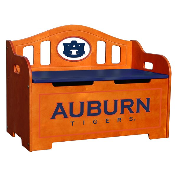 NCAA Stained Kids Novelty Chair with Storage Compartment by Fan Creations