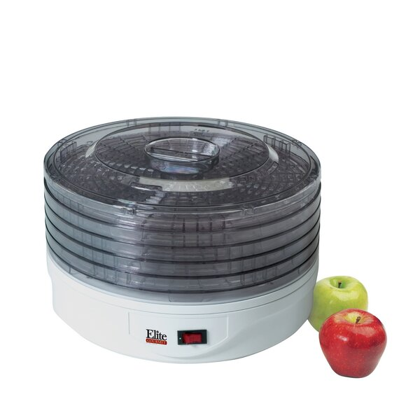 Gourmet 5 Tray Rotating Food Dehydrator by Elite by Maxi-Matic