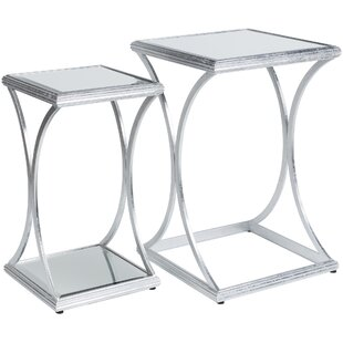 Read Reviews Ashanti ly-Inspired 2 Piece Nesting Tables By Orren Ellis