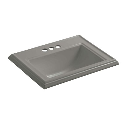 Drop Sink Ceramic Rectangular Overflow Faucetet 85 Product Image