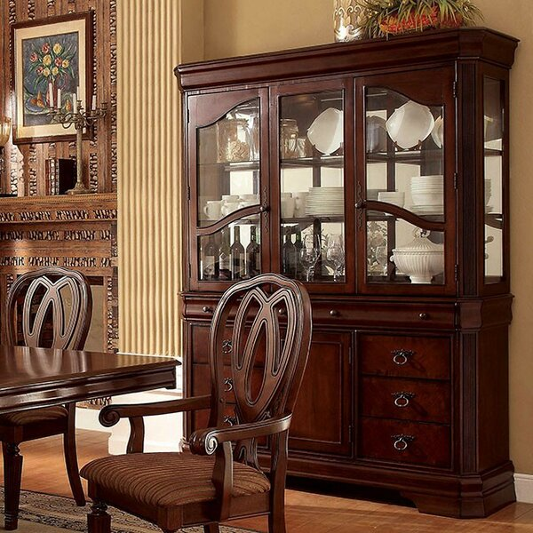 Skaggs China Cabinet by Astoria Grand