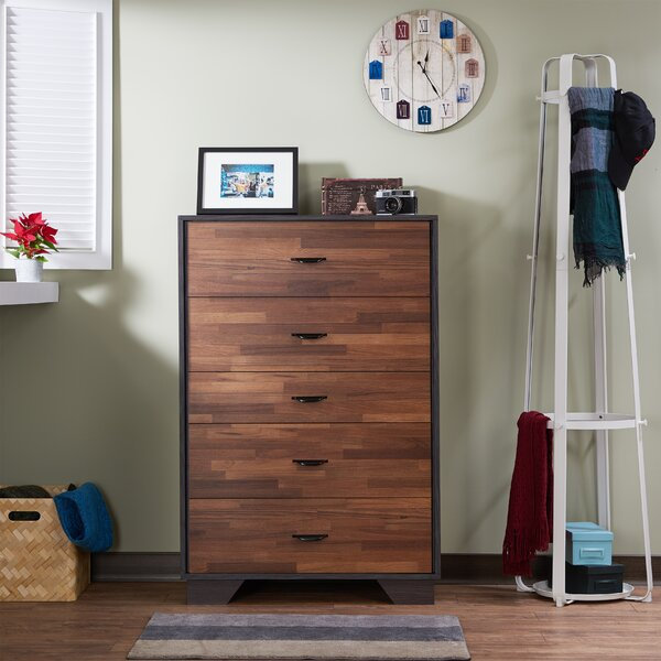 Rachna Rectangular 5 Drawer Chest By Wrought Studio by Wrought Studio 2020 Online