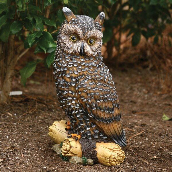Large Owl Statue by Michael Carr