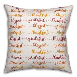 Blessed Throw Pillow Wayfair
