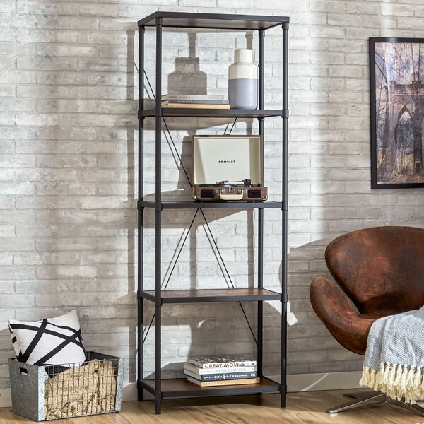 Hera Etagere Bookcase by Mercury RowHera Etagere Bookcase by Mercury Row