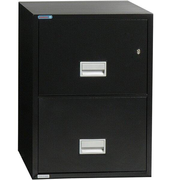 2-Drawer Vertical Filing Cabinet by Phoenix Safe International