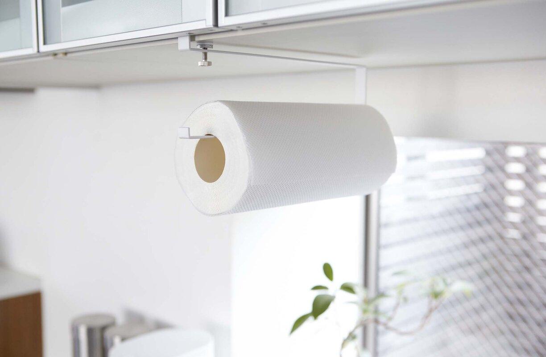 Plate Under Shelf Paper Towel Holder & Yamazaki USA Plate Under Shelf Paper Towel Holder \u0026 Reviews | Wayfair