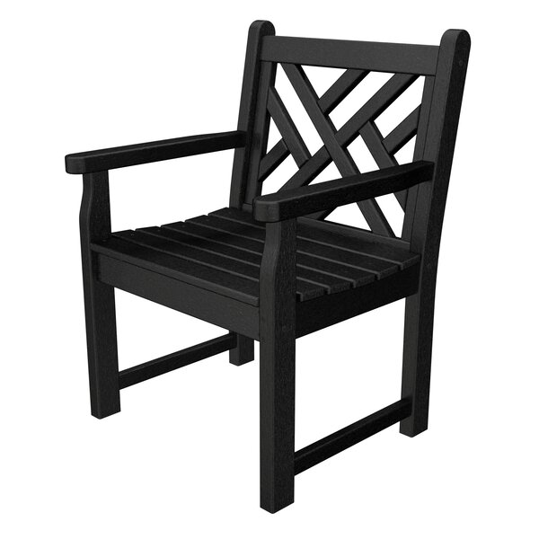 Chippendale Garden Arm Chair by POLYWOOD®