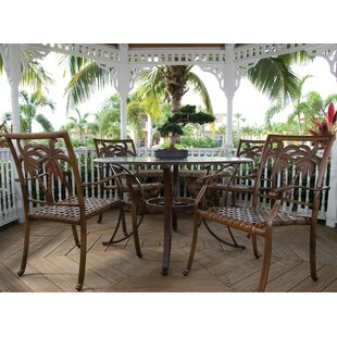 Saskia 5 Piece Dining Set By Beachcrest Home