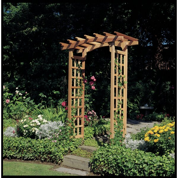 Astoria Wood Arbor by Rustic Natural Cedar Furniture