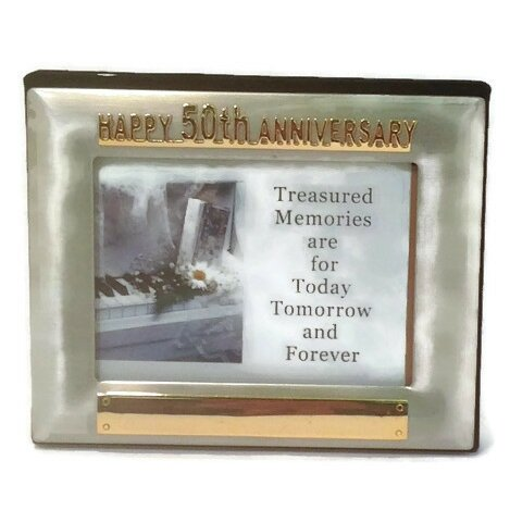 Elegance 50th Anniversary Album Picture Frame by Heim Concept