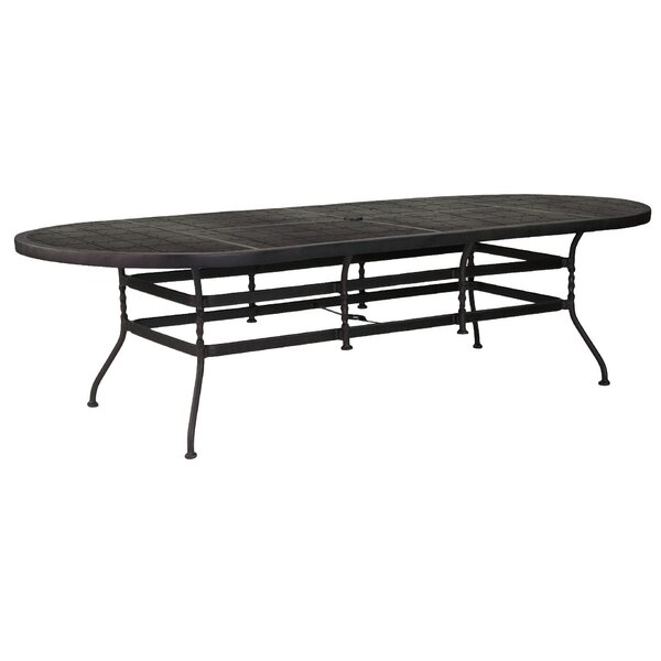 Veranda Aluminum Dining Table by Leona