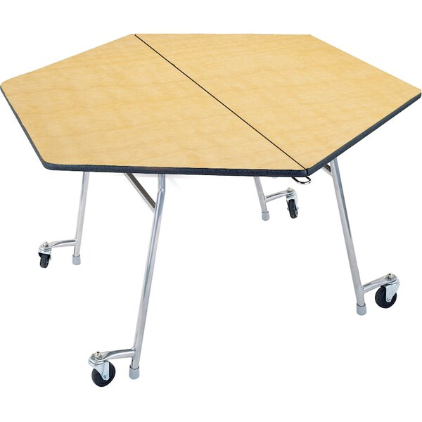 54'' x 48 Hexagonal Cafeteria Table by Palmer Hamilton