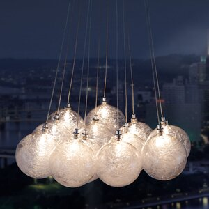 Cosmos 12-Light Cluster Pendant