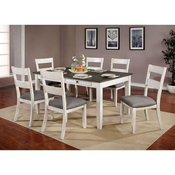 Allmon 7 Piece Dining Set by August Grove August Grove