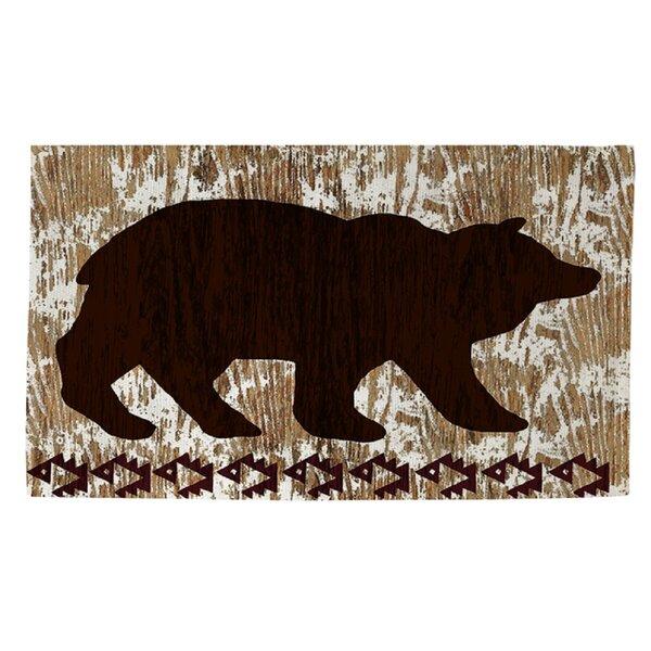Wilderness Bear Area Rug by Manual Woodworkers & Weavers