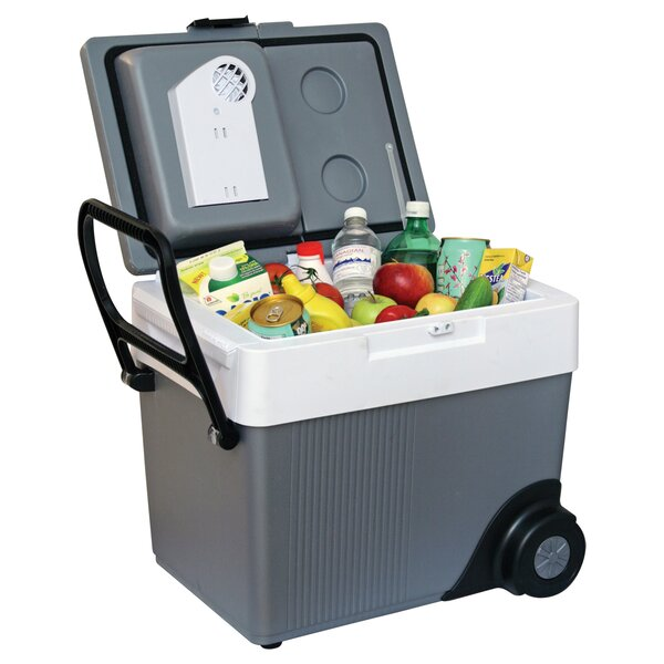 33 Qt. Kargo Rolling Electric Cooler by Koolatron