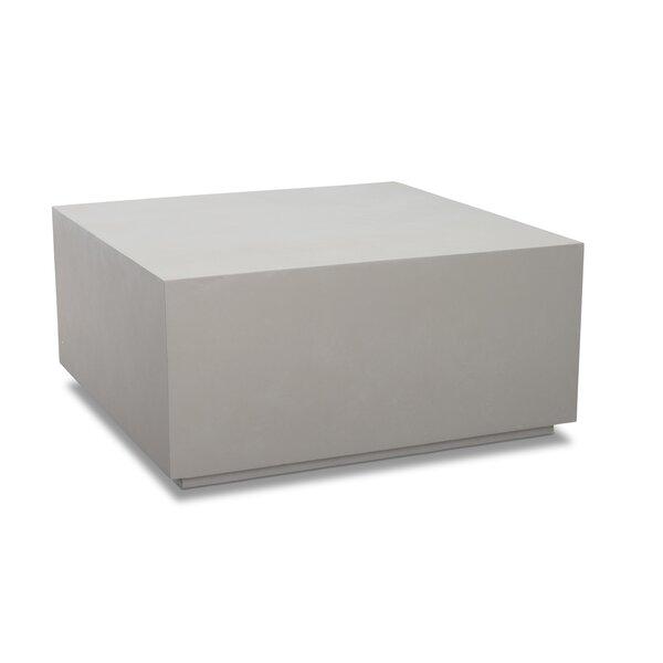 Pocklingt Stone/Concrete Coffee Table by Orren Ellis