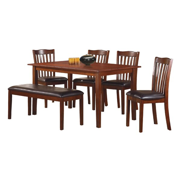 Evangeline 6 Piece Dining Set by Darby Home Co