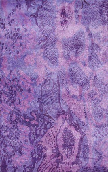Uma Handmade Purple Area Rug by Park Avenue Rugs