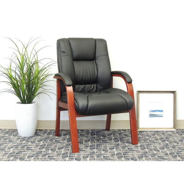 Baucom Leather Guest Chair