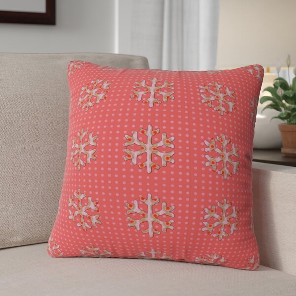 Oosterhout Flakes A Flutter Throw Pillow by The Holiday Aisle